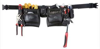 Toolpack Dubbel Verktygsbälte Läder Industrial 366.000