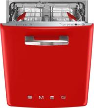 Smeg ST2FABRD2 Diskmaskin, röd