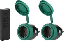 SEC24 Fjärrstyrt uttag set 3 delar grön HAF780S