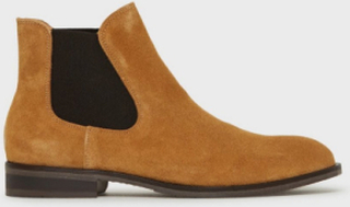Selected Homme Slhlouis Suede Chelsea Boot B Chelsea boots Sand