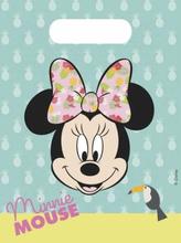 Minnie Mus Tropical Godteposer - 6 stk