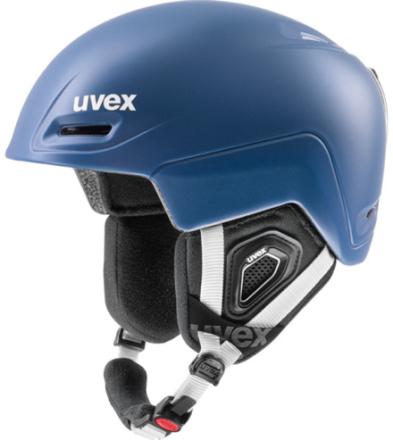 UVEX Jimm Hjelm blå 59-61cm 2017 Skihjelme
