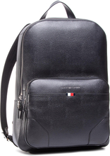 Ryggsäck TOMMY HILFIGER - Business Leather Backpack AM0AM06460 BLK
