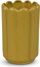 Vas Ribb H23 cm - Gul