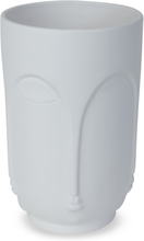Vas Face H23 cm - Vit