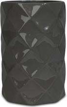 Vas Romb H22 cm - Grå