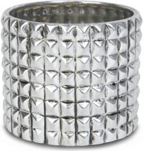 Kruka Nitar H19 cm - Silver