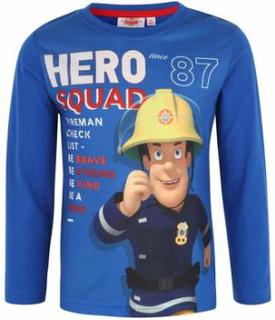 Fireman Sam T-skjorte, Blå
