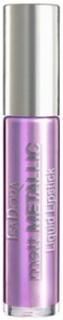 Isadora Matte Metallic Liquid Lipstick Läppstift Vibrant Violet