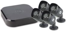 YALE-kytketty videovalvontajärjestelmä - 8 kanavaa 4 HD 1080P H.264 + kamerat ulkokäyttöön (IP67) - 2 TB kovalevy