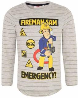 Fireman Sam T-skjorte, Grå