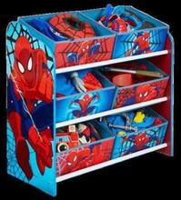 Spiderman Oppbevaringshylle med 6 skuffer