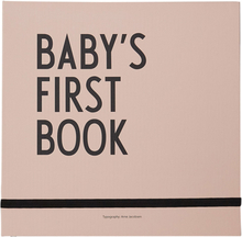 Design Letters - Baby's First Book, Nude