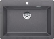 Blanco Pleon 8 UXI Kjøkkenvask 70x51 cm m/InFino Kurvventil, Silgranit Klippegrå