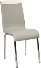 Krzesło Gent (szare/białe)