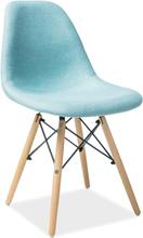 Krzesło Milano (buk/miętowy)