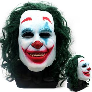 Joker Cosplay Clownhjälm _ Halloween Cosplay Rekvisita _ Joker Co. Joker Mask One Size