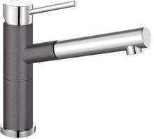 Blanco Alta-S Compact köksblandare med utdragbar pip, silgtanit, klippgrå