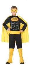 Kostume til børn Superhelt Sort