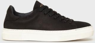 Selected Homme Slhdavid Chunky Clean Nubuck Train Sneakers Svart