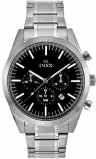 INEX HERREUR i stål med chronograf