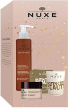 Nuxe Reve de Miel Face Cleansing Gel & Face Balm & Scented Candle 200 ml + 50 ml + 180 g