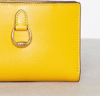 Lauren Ralph Lauren New Compact Wallet Small Plånböcker Sunflower