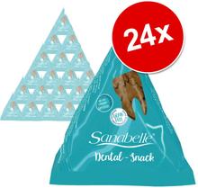 Sanabelle Snack -säästöpakkaus 24 x 20 g - 12 x Hairball + 12 x Dental