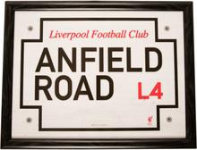 Liverpool knäbricka street sign