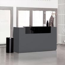 Höj- & sänkbar receptionsdisk Libra 1730 mm antracit