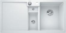 Blanco Collectis 6 S MXI Køkkenvask 100x51 cm m/InFino kurveventil, Silgranit, Hvid