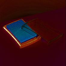 Stämpeldyna Encore Pigment 6 x 9,5 cm - metallisk (3 olika val)
