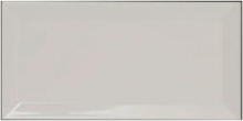 Biselado Mugat Blanco klinke 10x20 cm