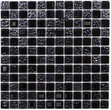Krystalmosaik Black Mix klinke 30x30 cm