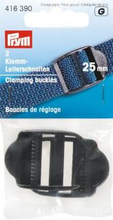 Klämspänne plast - svart