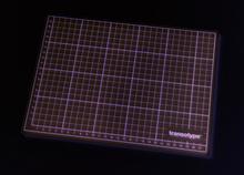 Skärmattor, transparent