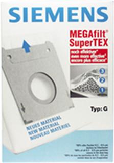 Støvsugerposer I Stof Type G, 4 Stk. + 1 Filter Til Støvsuger, Bosch/siemens Original
