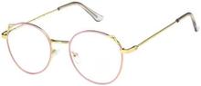 Anti Blue Light-Briller, Katteører - Lyserød / Guld