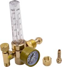 Argon CO2 Pressure Gas Mig Tig Flow Meter Regulator Welding Weld Gauge 3500 PSI