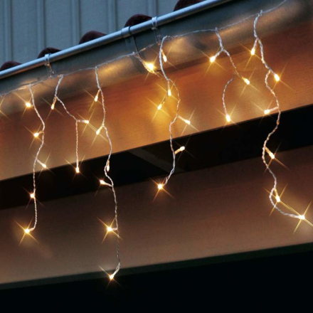 SAGA lyskæde med LED'er, transparent