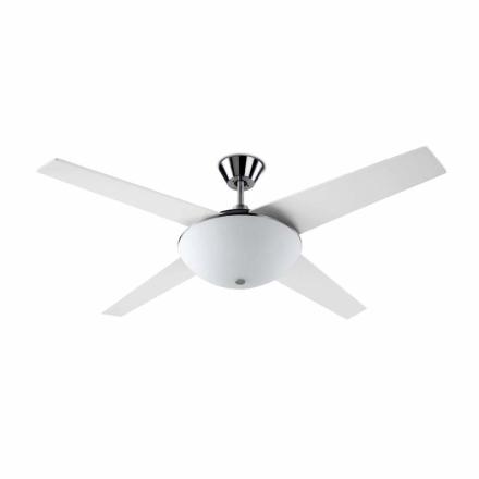 Aukena - en moderigtig ventilator med lampe