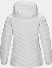 Women's Frost Down Hooded Jacket Valkoinen S