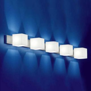 Vegglampe CUBE med blendingsbeskyttelse 5 lys