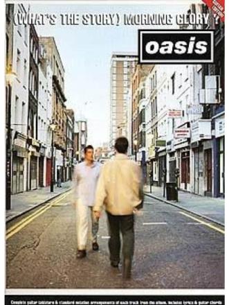 Brand mangler Oasis: What's The Story Morning Glory Tab lærebog