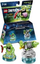 LEGO Dimensions Fun Pack Ghostbusters Slimer - (PlayStation 3, Xbox 360, Xbox One & WII U)