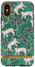 Mobilskal Green Leopard iPhone X
