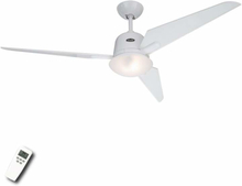 Eco Aviator loftsventilator, hvid, 132 cm