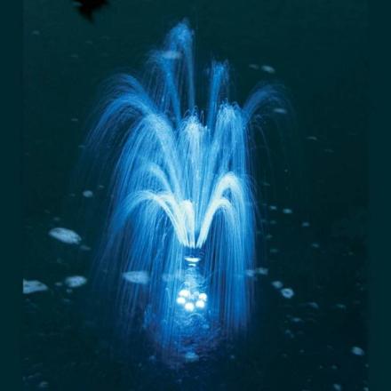 LED-lysring i blå til Napoli/Siena dampumper