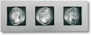 LED-Inbyggnadslampa Multi, 3 ljuskällor