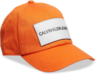 J Calvin Klein Jeans Accessories Headwear Caps Orange Calvin Klein